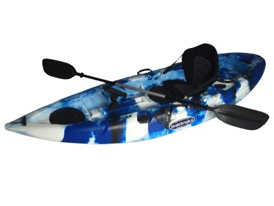 Storm Single Sit On Kayak Marine Blue