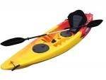 Tornado Single Sit On Kayak Yellow Red