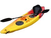 Tornado Single Sit On Kayak Yellow Red